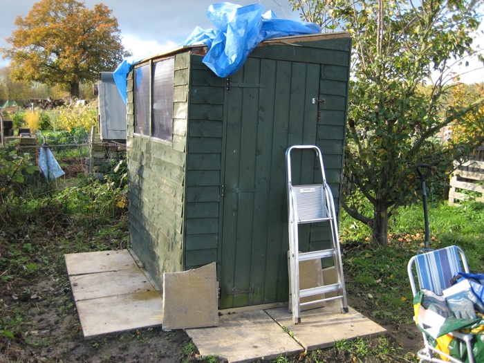 Recycled Shed 1